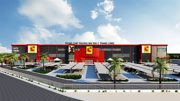 BigC Thang Long Renovation